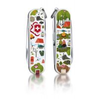 Складной нож Victorinox Classic Nature Adventure 0.6223.L1505
