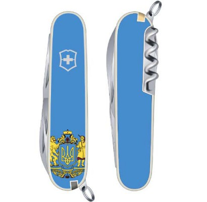 Складной нож Victorinox SPARTAN UKRAINE 1.3603.7R6